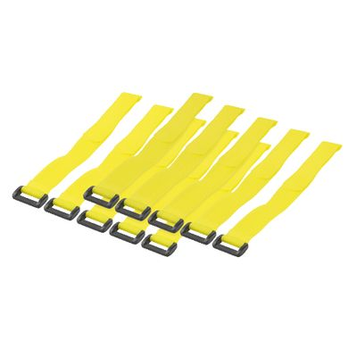 - Cable Tie with velco, yellow
