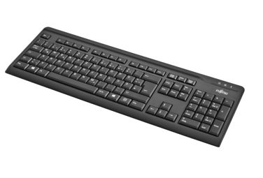 KEYBOARD KB410 USB BLACK SLIM NORDIC + ESTONIA LAYOUT ND