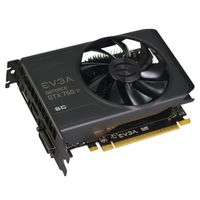 "GeForce GTX 750Ti 2GB PhysX CUDA PCI-Express 3.0, ""Superclocked"",  DL-DVI-I, HDMI, DisplayPort"