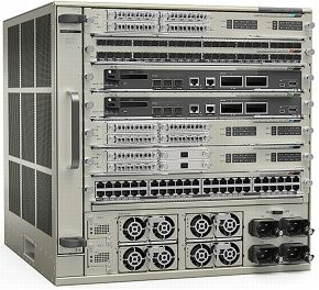 CISCO CHASSIS+FAN TRAY+ SUP2T+2XPOWER SUPPLY IP SERVICES ONLY          IN CPNT (C6807-XL-S2T-BUN)