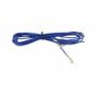 KRAM TELECOM Blue ignition wire 200cm with female bullet