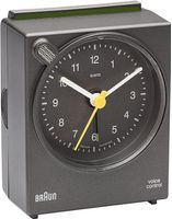 BNC 004 Voice Activated Alarm Clock grey