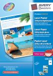 AVERY 1398-200 Photo paper A4 glossy laser 200g (200)