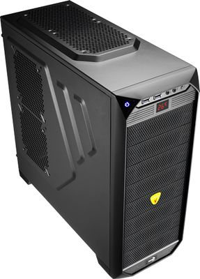 Vs-92 Black Edition Midi-Tower - schwarz