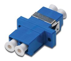 LC / LC Duplex Coupler blue