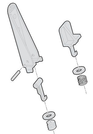 Edge Guide kit,High and Low Assy´s, PD4/PD41