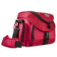 Premium Photo Bag red/black