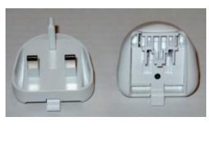 AC Adapter-Plug UK White