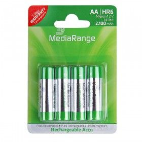 Batterie Rechargeable Accu Mignon AA HR06 4Stk