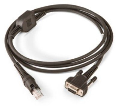 RS232 Cable, 9 pin female w/ PSU,6.5ft