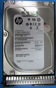 Hewlett Packard Enterprise HP 2TB 6G SATA 7.2k 3.5in SC MDL Retail (658102-001)