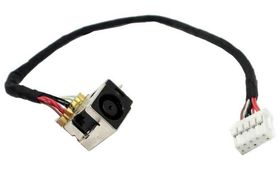 HP DC IN POWER CONNECTOR W CA (617348-001)