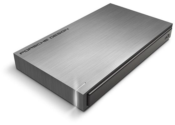 Porsche Design Mobile P'9220 2TB Ultra-fast USB 3.0,  Solid aluminum casing, SW suite included