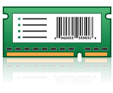 LEXMARK C950 FORMS AND BAR CODE CARD