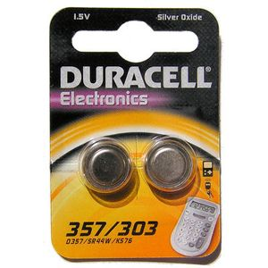DURACELL Coin Cell D357H / SR44 Battery (10x2 Packs) (D357)
