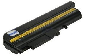 Notebookbatteri,  Li-Ion, 10,8V, 6600mAh, 538g, IBM