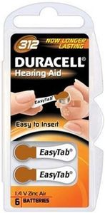1.4v Hearing Aid Cell (6 Pack)