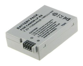 2-POWER Digital Camera Battery 7.2v 950mAh Tilsvarende LP-E8 (DBI9945A)