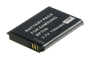 Digital Camera Battery 3.7v 700mAh Tilsvarende BP70A