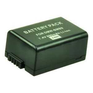 Digital Camera Battery 7.4v 890mAh 6.6Wh Tilsvarende DMW-BMB9E