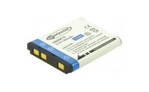 2-POWER Digital Camera Battery 3.7v 600mAh Tilsvarende D-LI108 (DBI9961A)