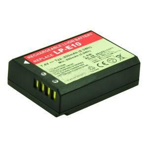 2-POWER Digital Camera Battery 7.4v 850mAh Tilsvarende LP-E10 (DBI9967A)