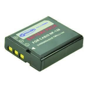 2-POWER Digital Camera Battery 3.7v 1600mAh Tilsvarende NP-130 (DBI9968A)