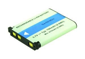 2-POWER Digital Camera Battery 3.7v 700mAh Tilsvarende 02491-0053-00 (DBI9980A)