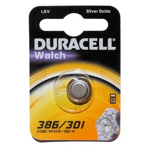 DURACELL 386/301 1.5v Watch Battery (D386)
