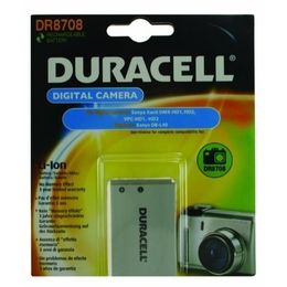 DURACELL Digital Camera Battery 3.7v 1150mAh Tilsvarende DB-L40 (DR8708)