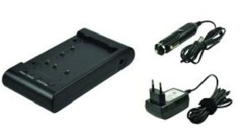 2-POWER Camcorder Battery Charger Tilsvarende PV-A19 (CBC9200E)