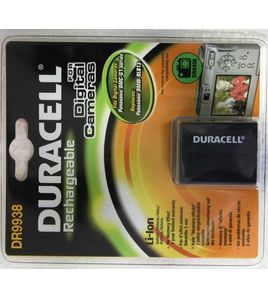 DURACELL Digital Camera Battery 7.4v 1050mAh Tilsvarende DMW-BLB13 (DR9938)