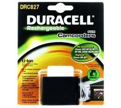 DURACELL Batteri BP-827 Erstatningsbatteri for Canon BP-827 (DRC827)