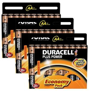DURACELL Plus AA 60 Pack (MN1500-X60)