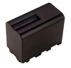 2-POWER Camcorder Battery 7.2v 6600mAh Tilsvarende NP-930 (VBI0963A)