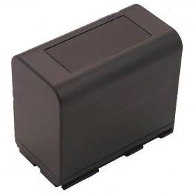 Camcorder Battery 7.2v 6600mAh Tilsvarende BP-941