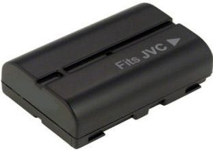 2-POWER Camcorder Battery 7.2v 1100mAh Tilsvarende 005A (VBI9554A)