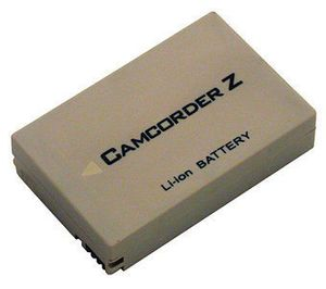 Camcorder Battery 7.4v 1100mAh Tilsvarende BT-L226