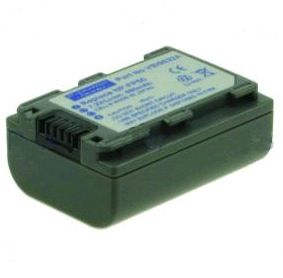 2-POWER Camcorder Battery 7.2v 700mAh Tilsvarende NP-FP50 (VBI9632A)