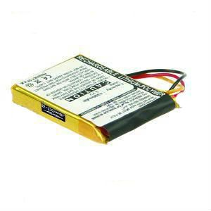 2-POWER GPS / Sat-Nav Battery 3.7v 1200mAh Tilsvarende F650010252 (GPI0001A)