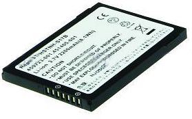 2-POWER PDA Battery 3.7v 2200mAh Tilsvarende 410814-001 (PDA0090A)
