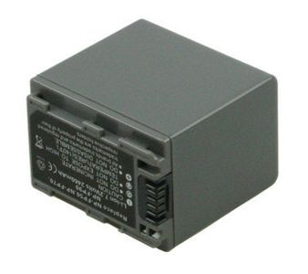 2-POWER Camcorder Battery 7.2v 2300mAh Tilsvarende NP-FP90 (VBI9634A)