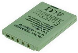 2-POWER Camcorder Battery 7.2v 1100mAh Tilsvarende VW-VBG130 (VBI9702A)
