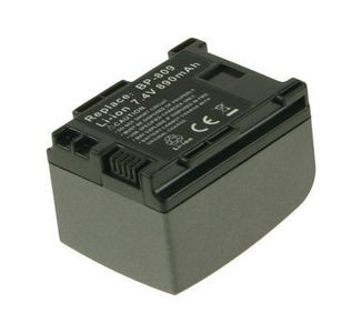 2-POWER Camcorder Battery 7.4v 860mAh Tilsvarende BP-809 (VBI9922A)