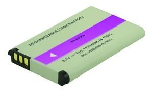 2-POWER Camcorder Battery 3.7v 1100mAh Tilsvarende PX1728 (VBI9928A)
