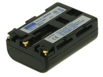 2-POWER Digital Camera Battery 7.2v 1620mAh Tilsvarende B-9677 (DBI9563A)