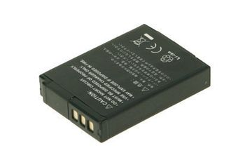 2-POWER Digital Camera Battery 3.7v 1050mAh Tilsvarende EN-EL12 (DBI9932A)