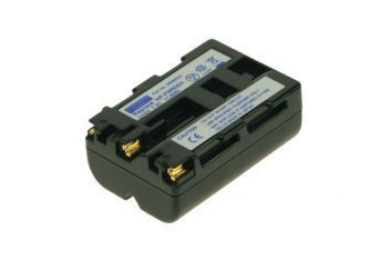 2-POWER Digital Camera Battery 7.2v 1600mAh Tilsvarende NP-FM500H (DBI9934A)