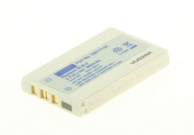2-POWER Digital Camera Battery 3.7v 720mAh Tilsvarende BLB-2 (DBI7714A)