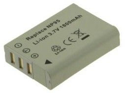 Digital Camera Battery 3.7v 1700mAh Tilsvarende NP-95